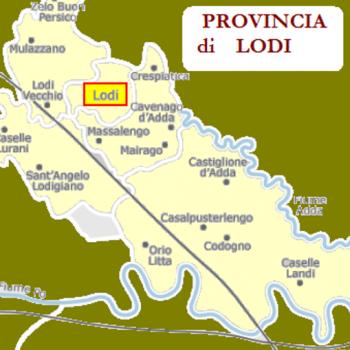 Cartina Geografica Provincia Di Cremona.Carta Geografica Lodi Provincia Co Dif Italiana Srl